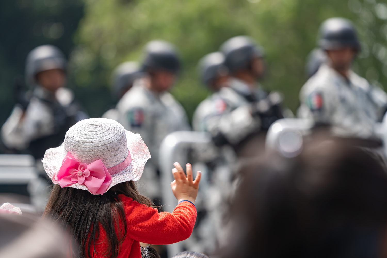 Girl at Parade by Jason Boren