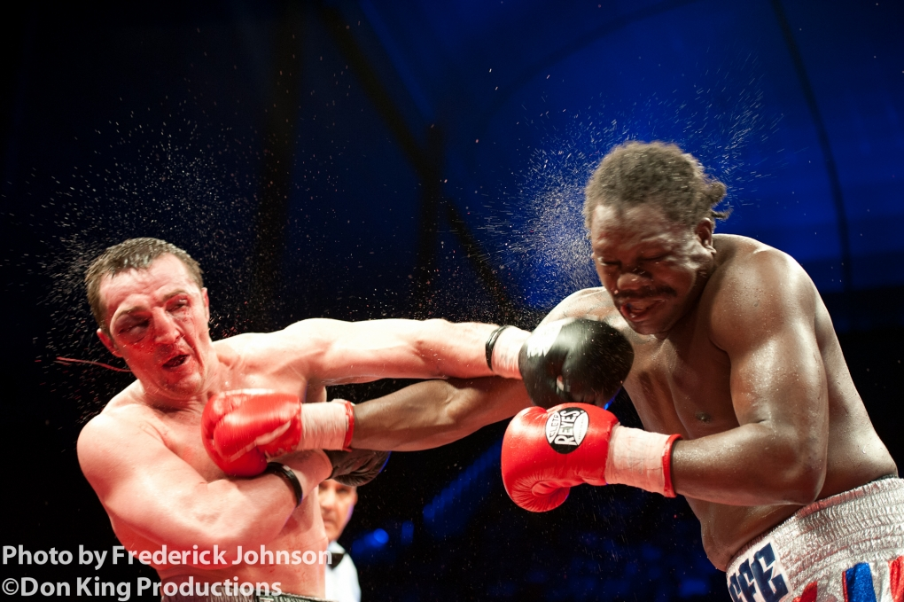 The pain of Boxing by Frederick Johnson