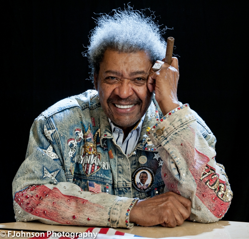 Don King by Frederick Johnson