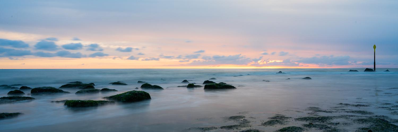 Calm sea by Ruben Mellaart