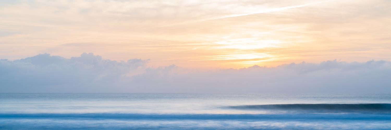 Sunset waves Sagres by Ruben Mellaart