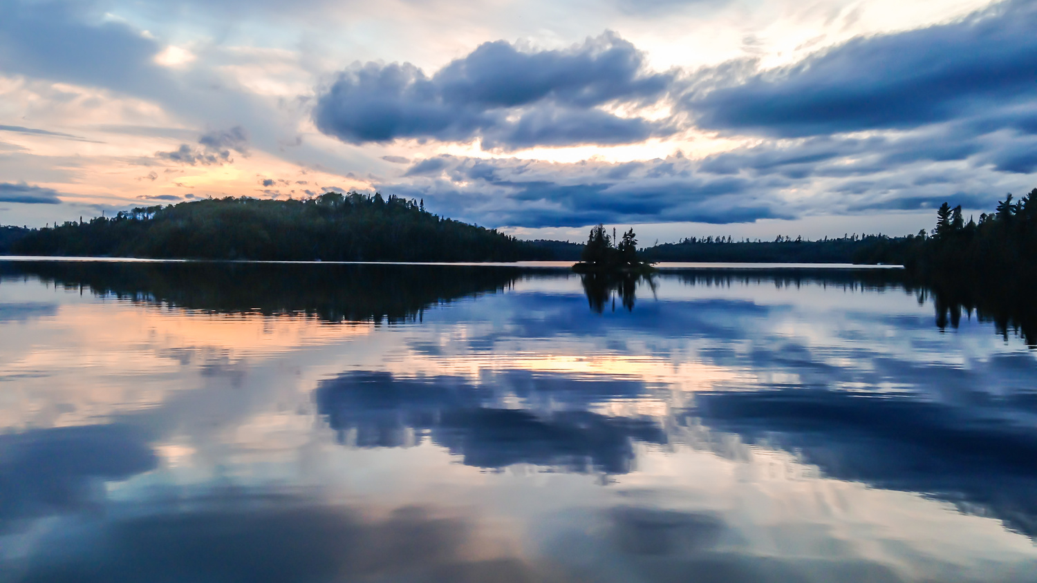 Boundary Waters Reflections by Brian Gayley