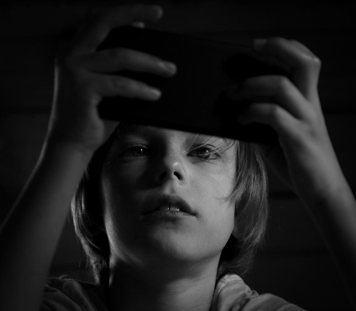 Phone addict by Judita Juknelė