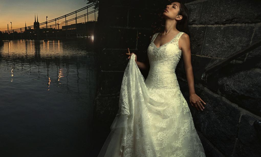 Bridal Fantasy: River Wall by Dan Howell