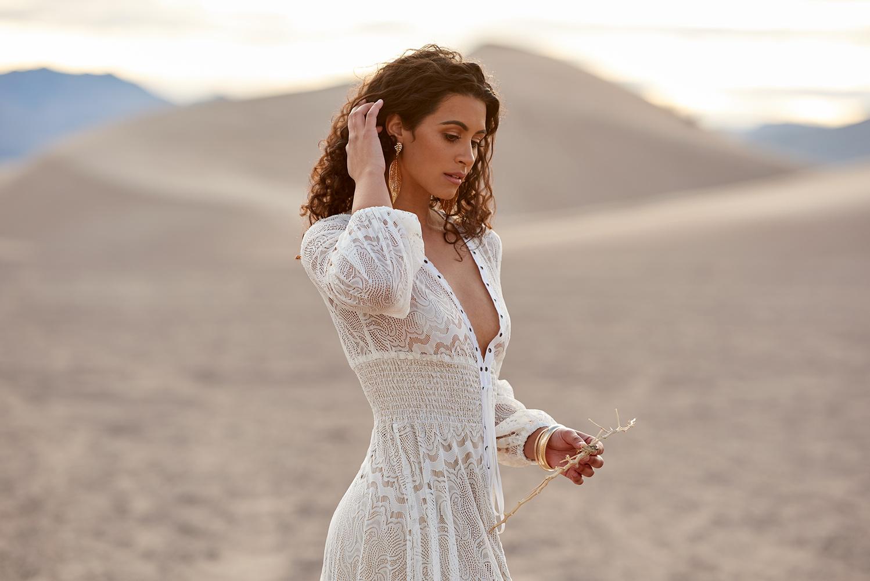 Desert Sand Dune Fashion by Dan Howell