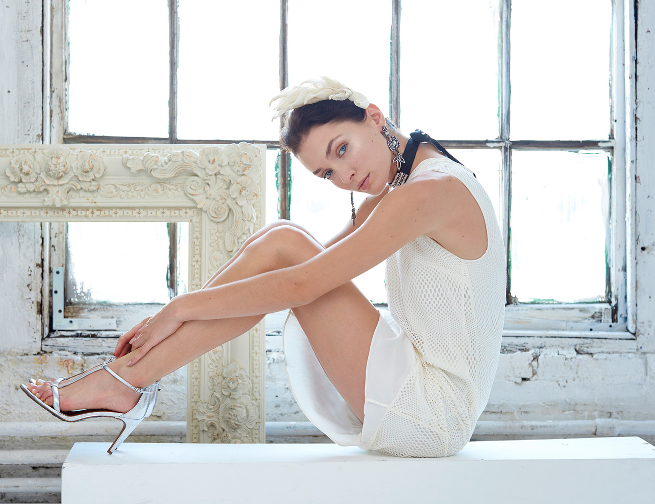 White Fashion Shoot Window by Dan Howell