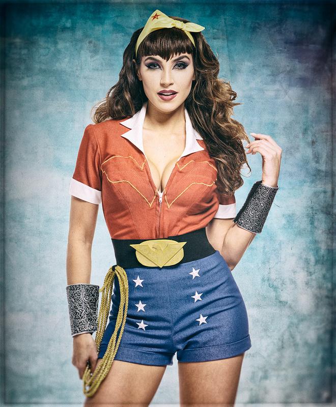 Wonder Woman Cosplay by Dan Howell
