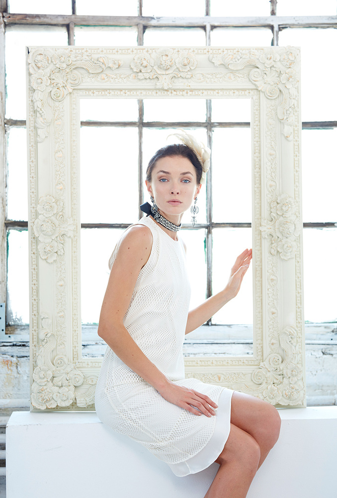 White On White Frame by Dan Howell