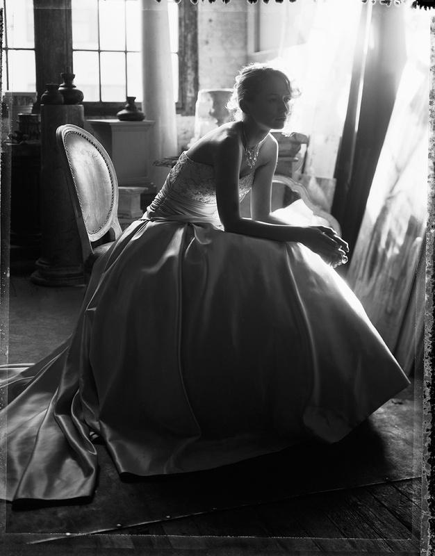 Bridal Fashion Type54 Polaroid by Dan Howell