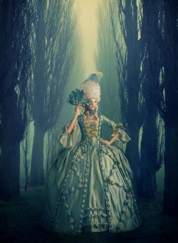 Marie Antoinette Forest by Dan Howell