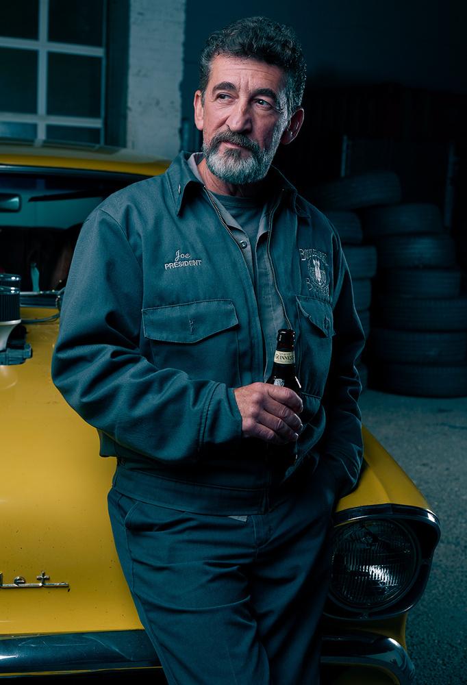 Hot Rod Portrait by Dan Howell