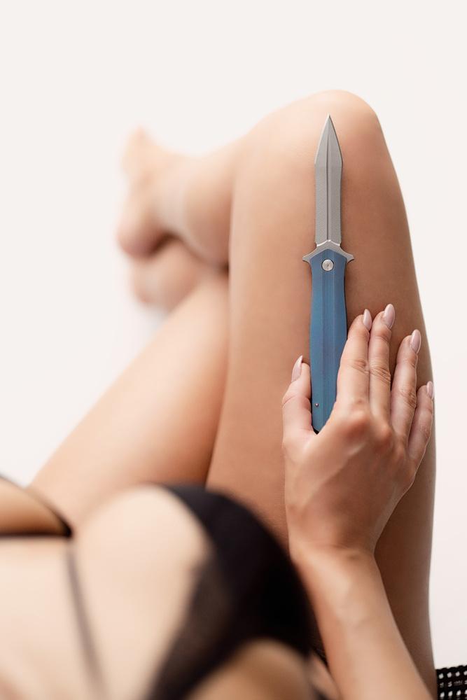 Handmade knife by Eryk Lewandowski