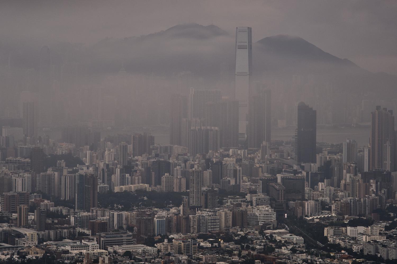 Foggy HK by Jonas Novak