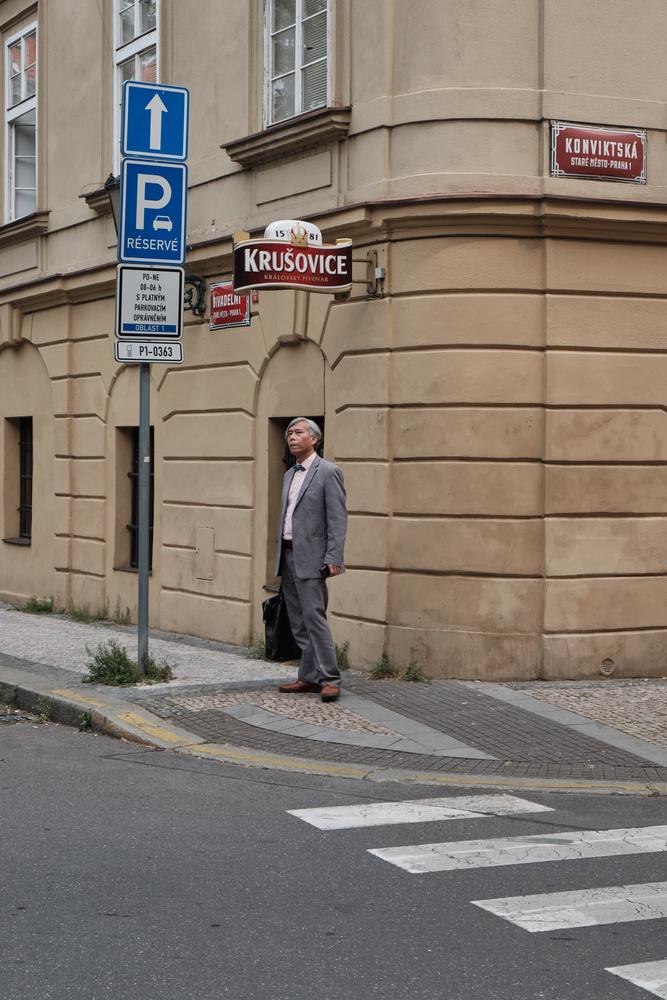 Prague pose by Jonas Novak