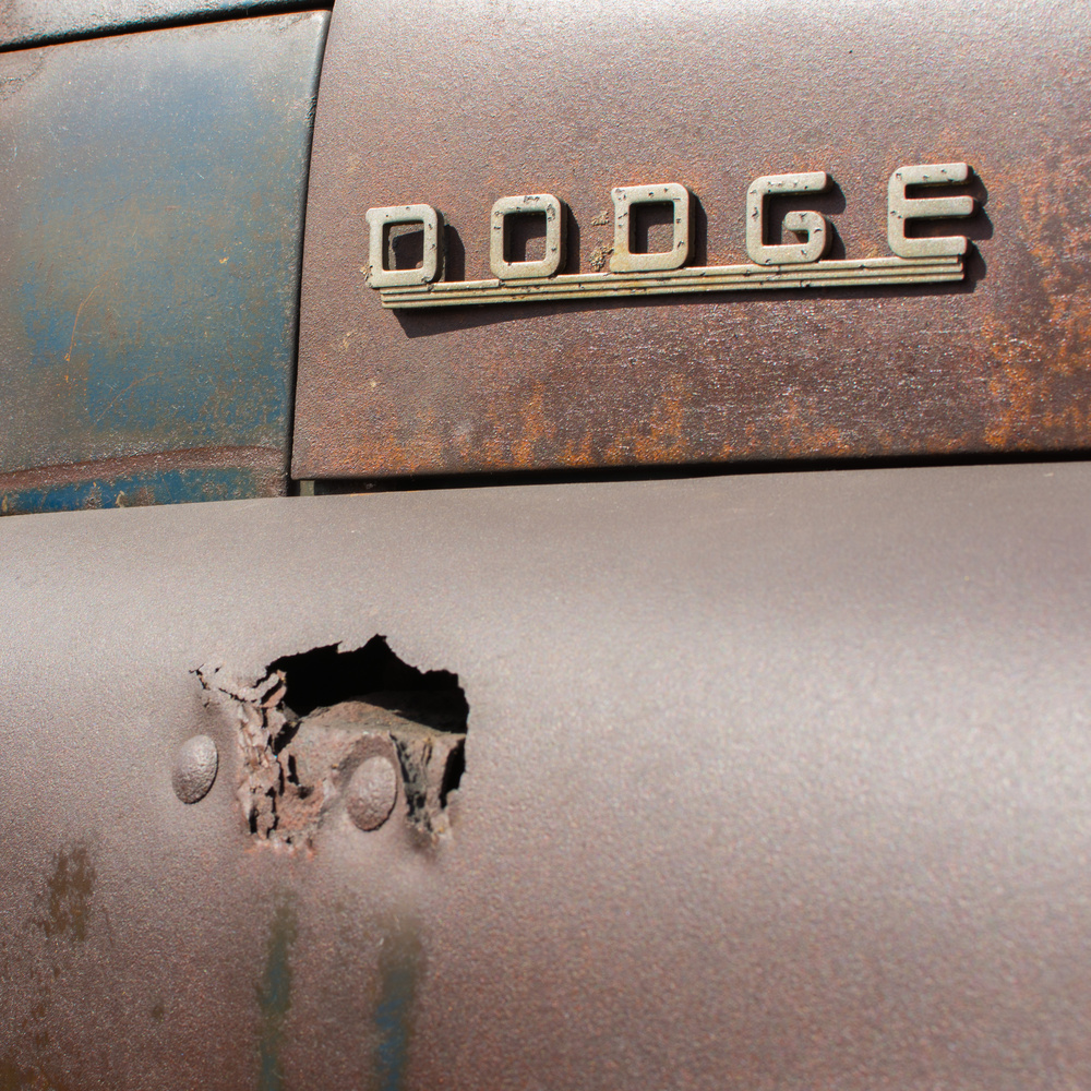 Truck with patina by Josh Akell
