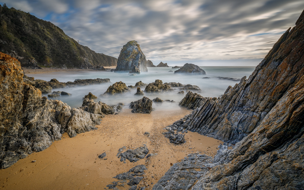 Back View at the Horse Head Rock by Michael Borisenko