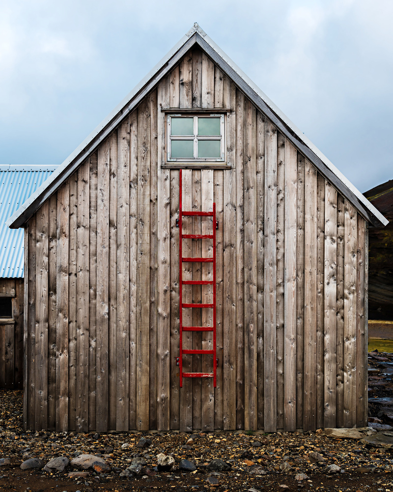 Red Ladder by Stepan Andreev