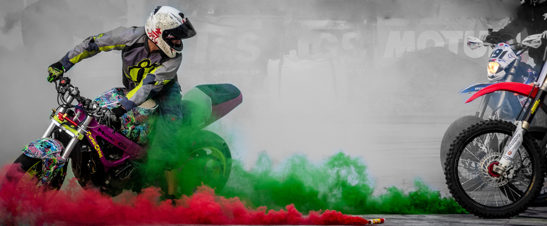 Stunt bikes by Ermis Zs
