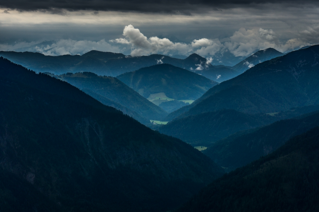 Blue Alps by Krispijn Scholte