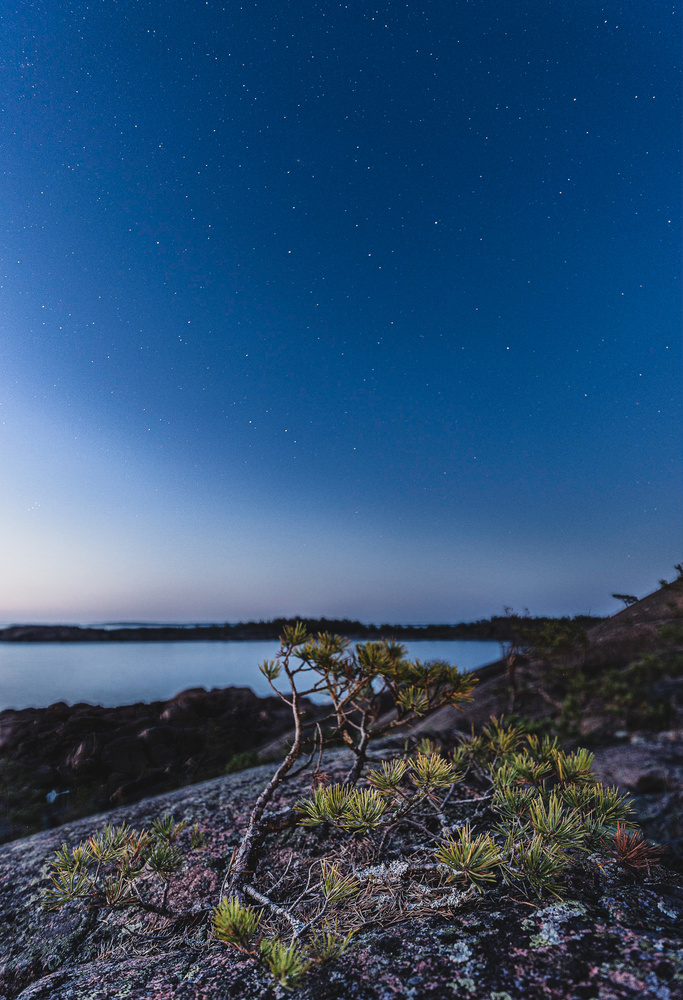 Stars in Åland by Jonathan Fransson