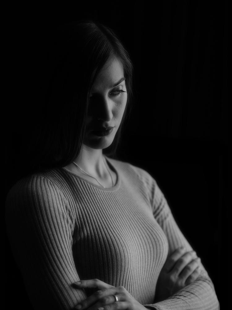 Noir Portrait by Sergey Koveshnikov