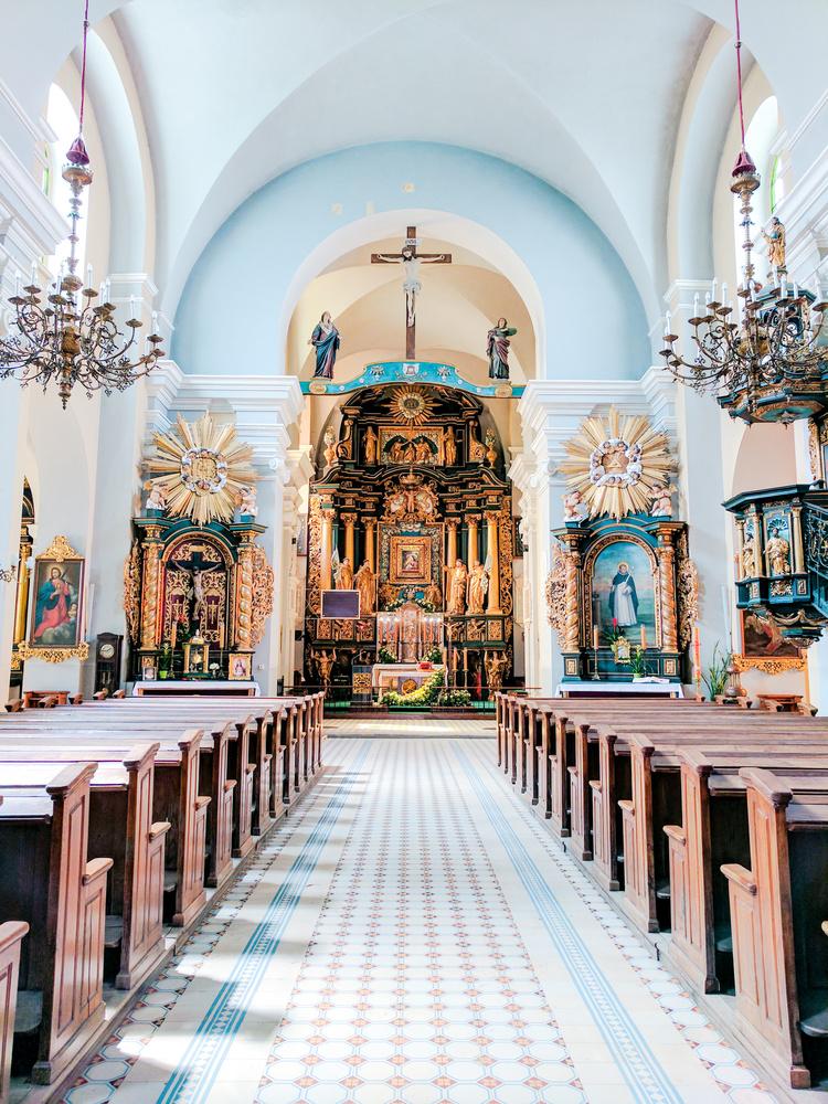 Church in Poland by Antonio Infante