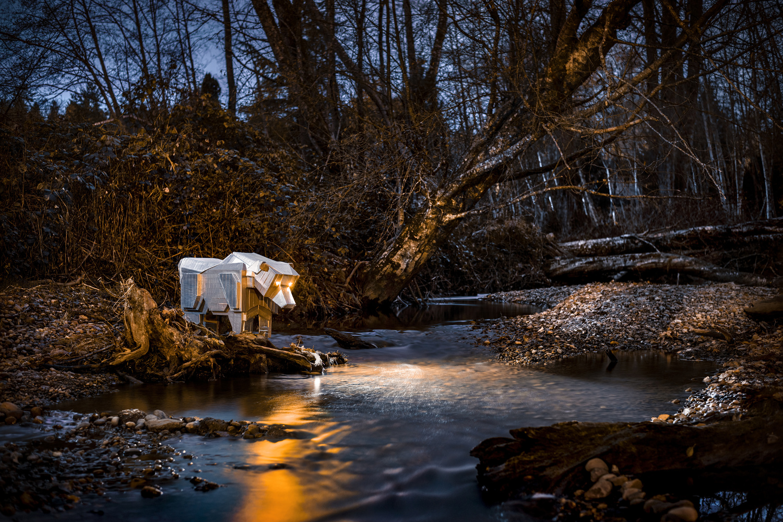 Night Fishing by James Friesen