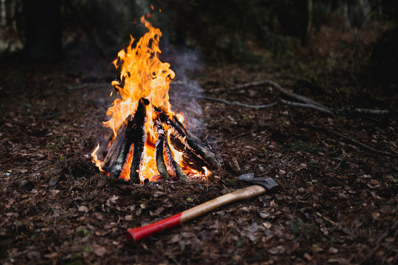 Campfire by Elvis Bekmanis