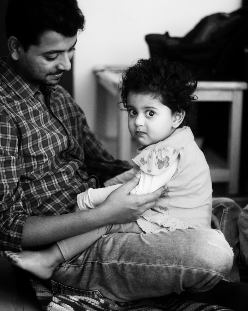Family Portrait by SK Jafir Ali