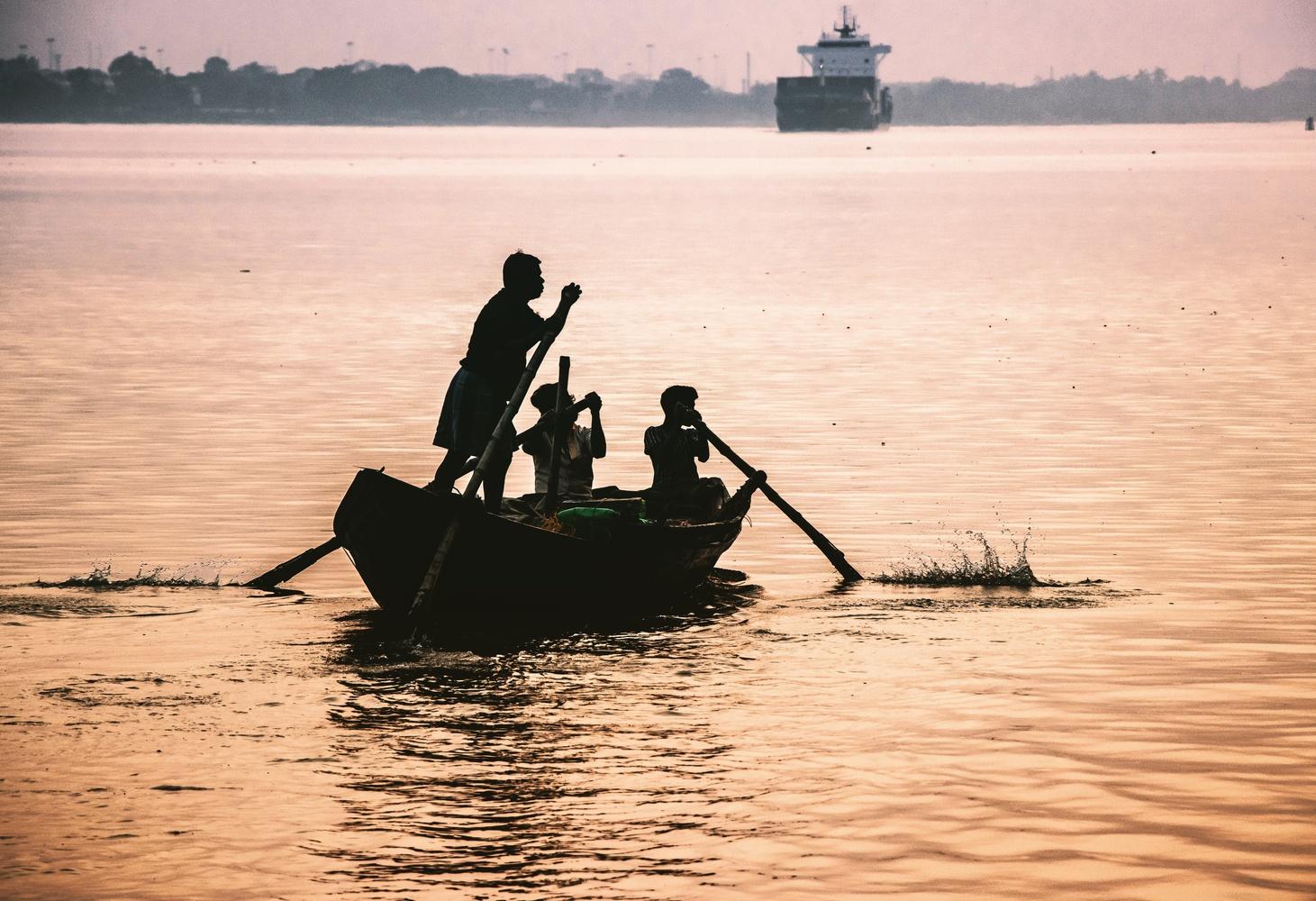 Boat by SK Jafir Ali
