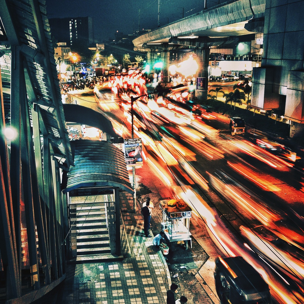 When you want to slow down on a busy road by SK Jafir Ali