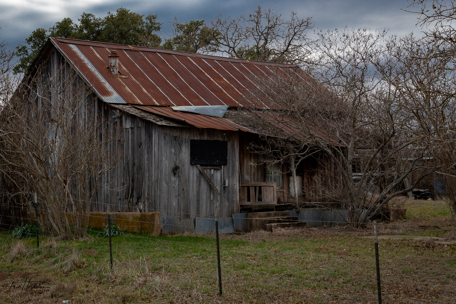 Abandoned in the Hill Country by Fred Herdman