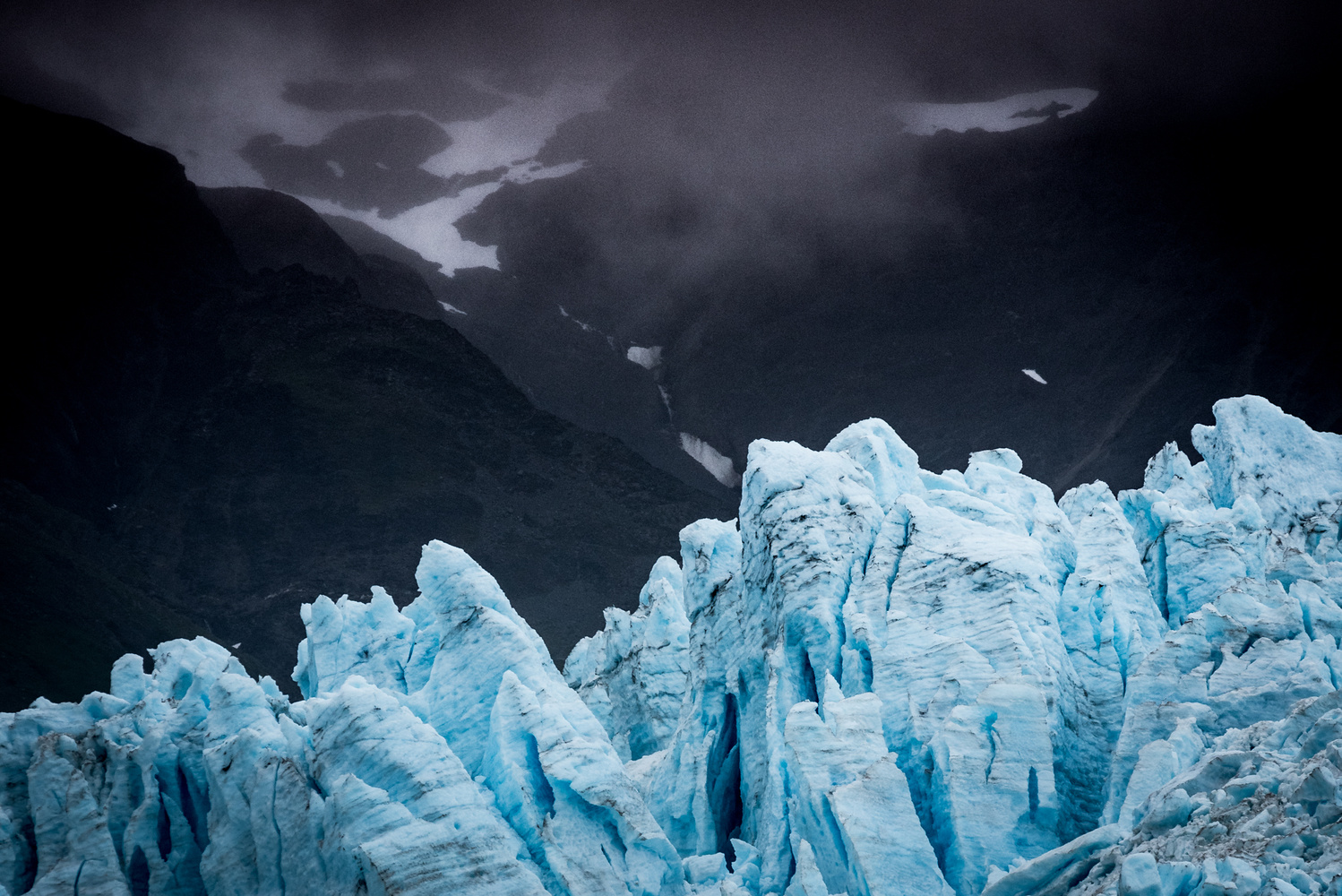 Ice is Blue, who Knew? by Roger Moffatt