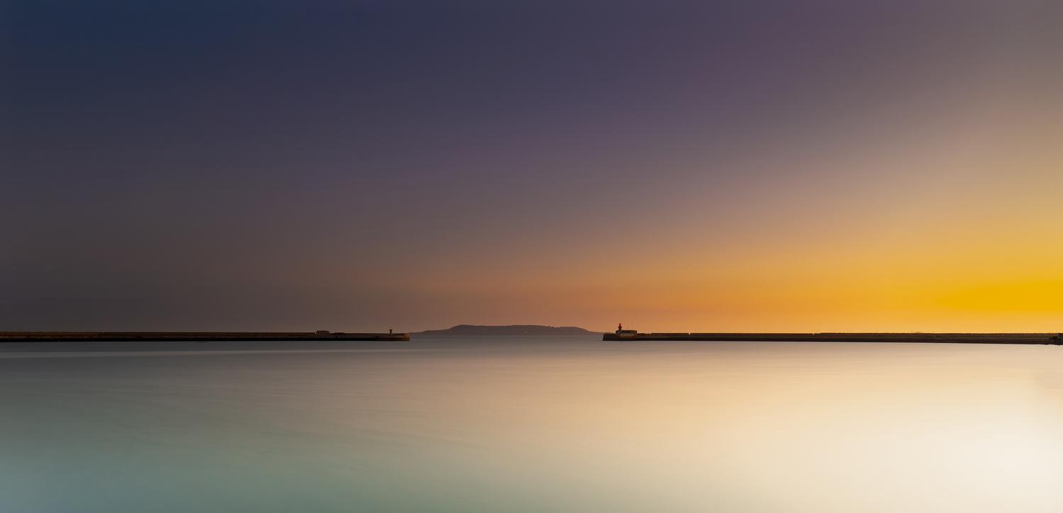 Sunrise in Dun Laoghaire by Srinath Muralidharan