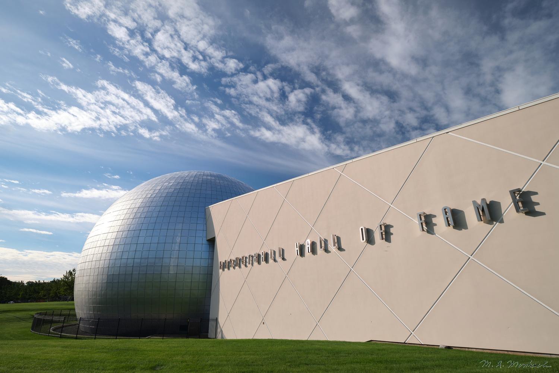 Naismith Memorial, Basket Ball Hall of Fame by Mark Morsbach