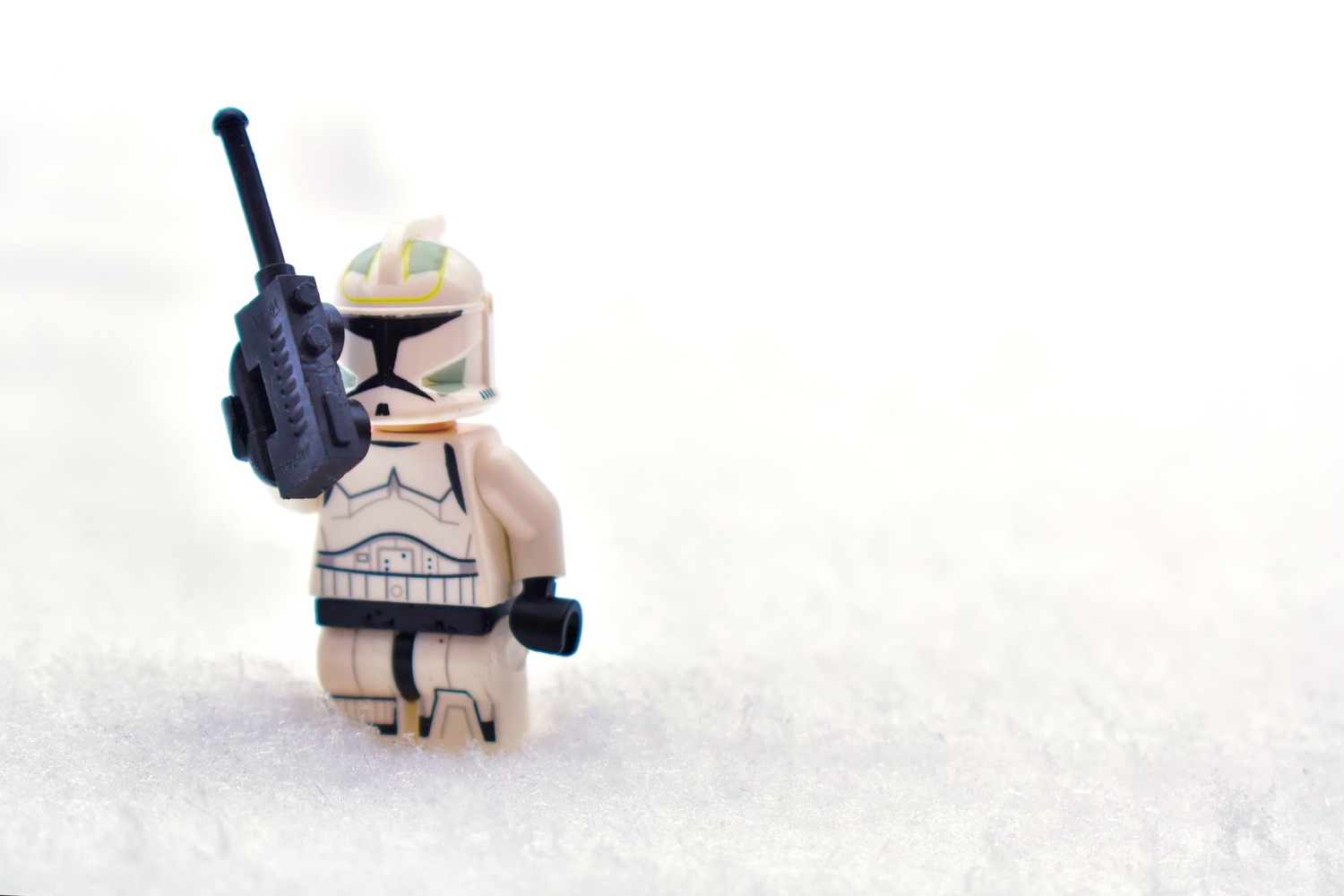 Hoth Trooper by Matthew Lacy