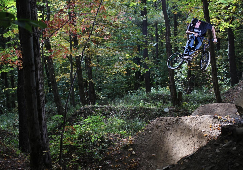 Kelly Baker moto whip by Tom Beckman