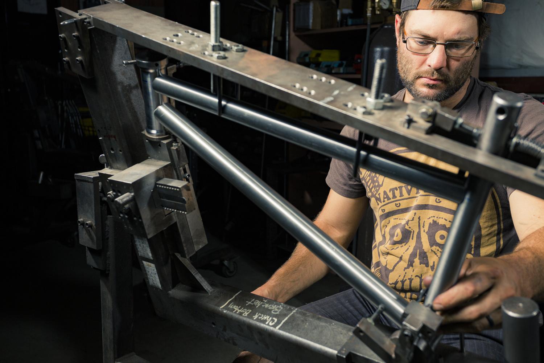 John Corts-Bmx Frame Builder by Tom Beckman