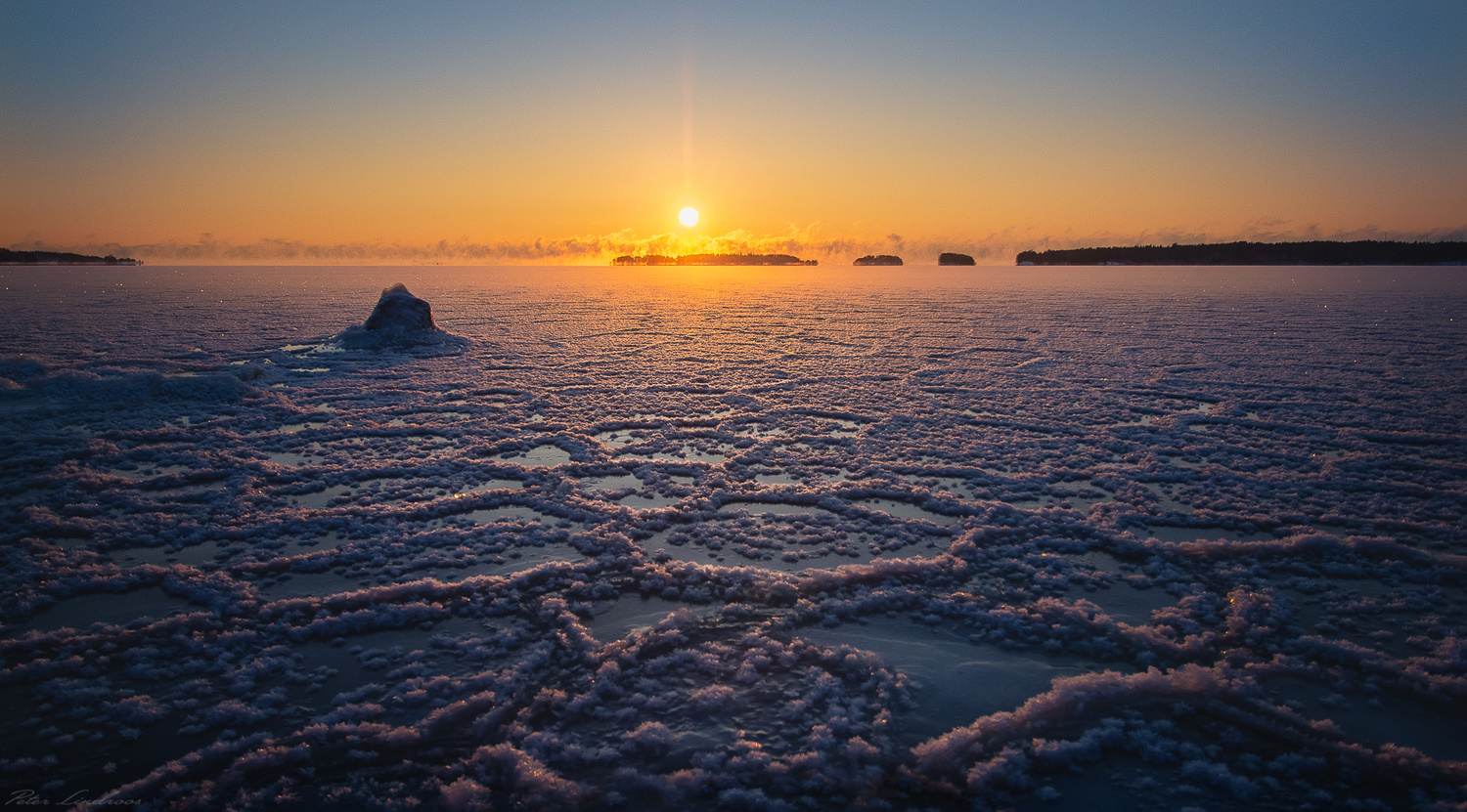 Icy Morning by P. L.