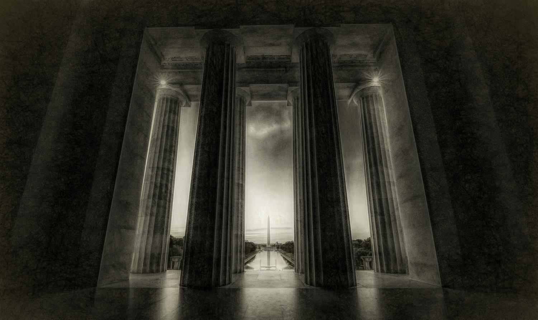 Monumental Dawn by John Ellingson