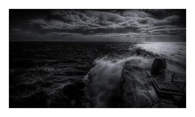 Quartering Seas by John Ellingson