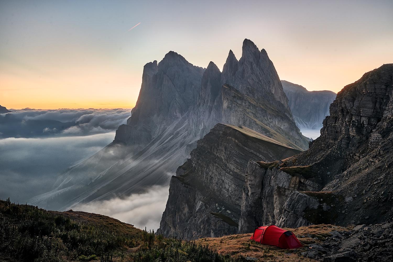 Seceda Sunrise by Stefan Brink