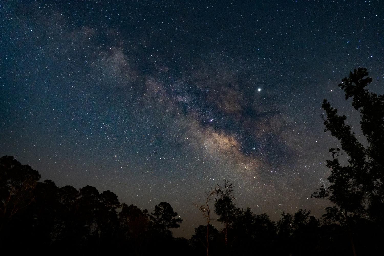 Night sky from my back yard by Paul Farace