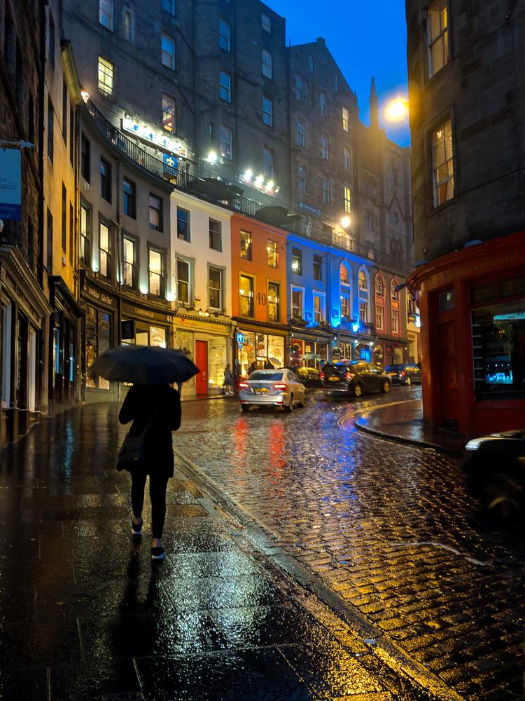 Rainy Edinburgh by Keegan Stacey