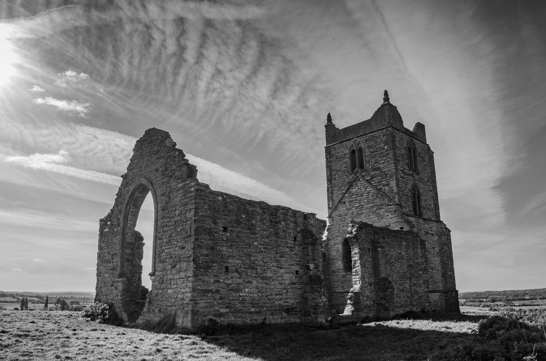 Somerset Levels Church by J B