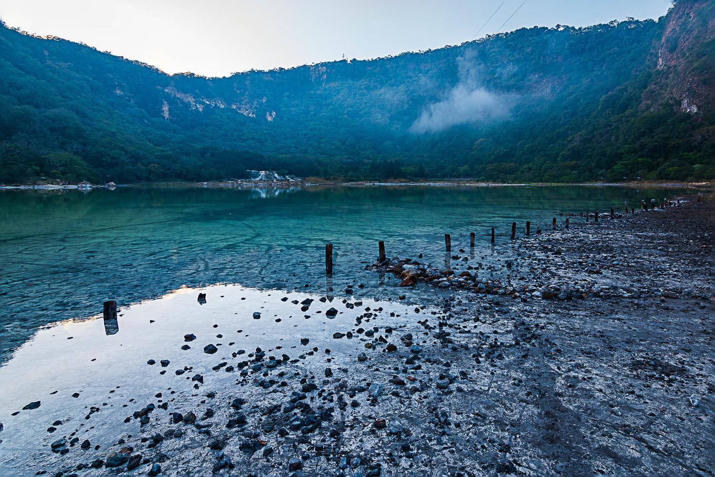 Alegria's volcanic pond by Jose Roca