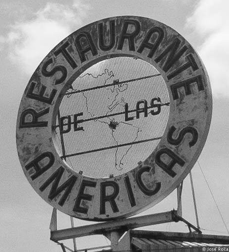 Old sign by Jose Roca