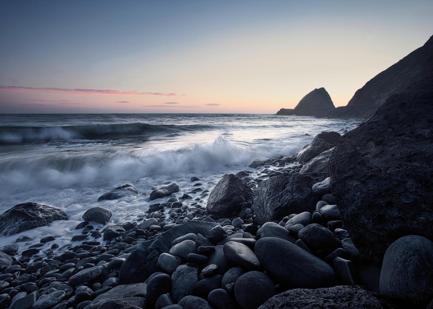 Point Mugu Malibu Sunset by Chad Wanstreet