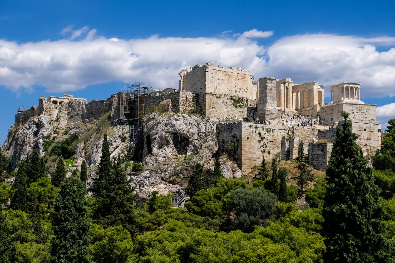 Ancient Architectural Acropolis of Athens by Matthew Edoimioya