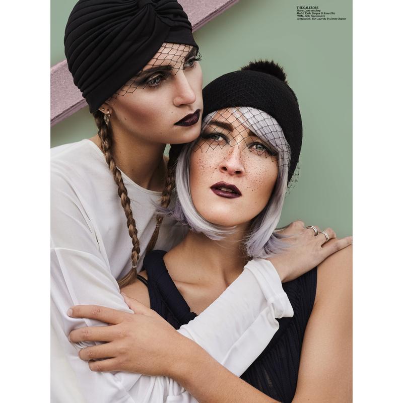 Fashion Shoot for TheGalerobe by Dani von Berg